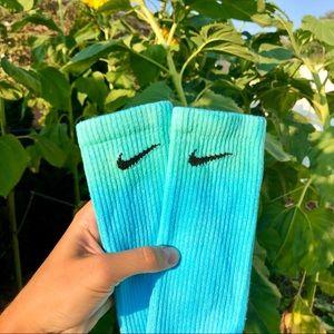 Ombré Nike Crew Socks